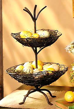 fall twig basket
