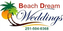 Beach Dream Weddings, Alabama Gulf Coast