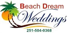 Beach Dream Weddings, Alabama Gulf Coast