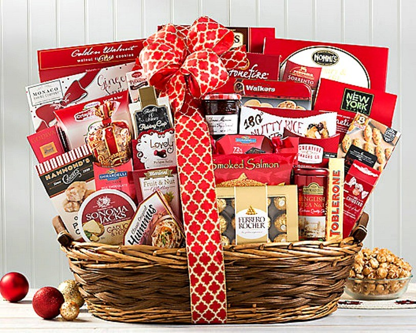 best christmas party gift basket loading zoom