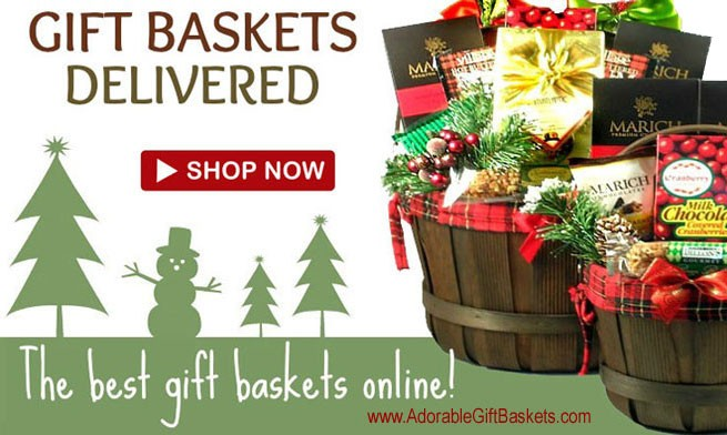 Christmas Gift Baskets Delivered