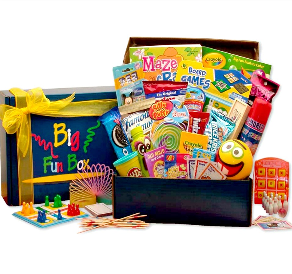 tons of fun gift box for kids