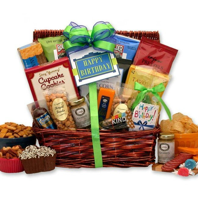 Motorcycle Man, Gift Basket for Him