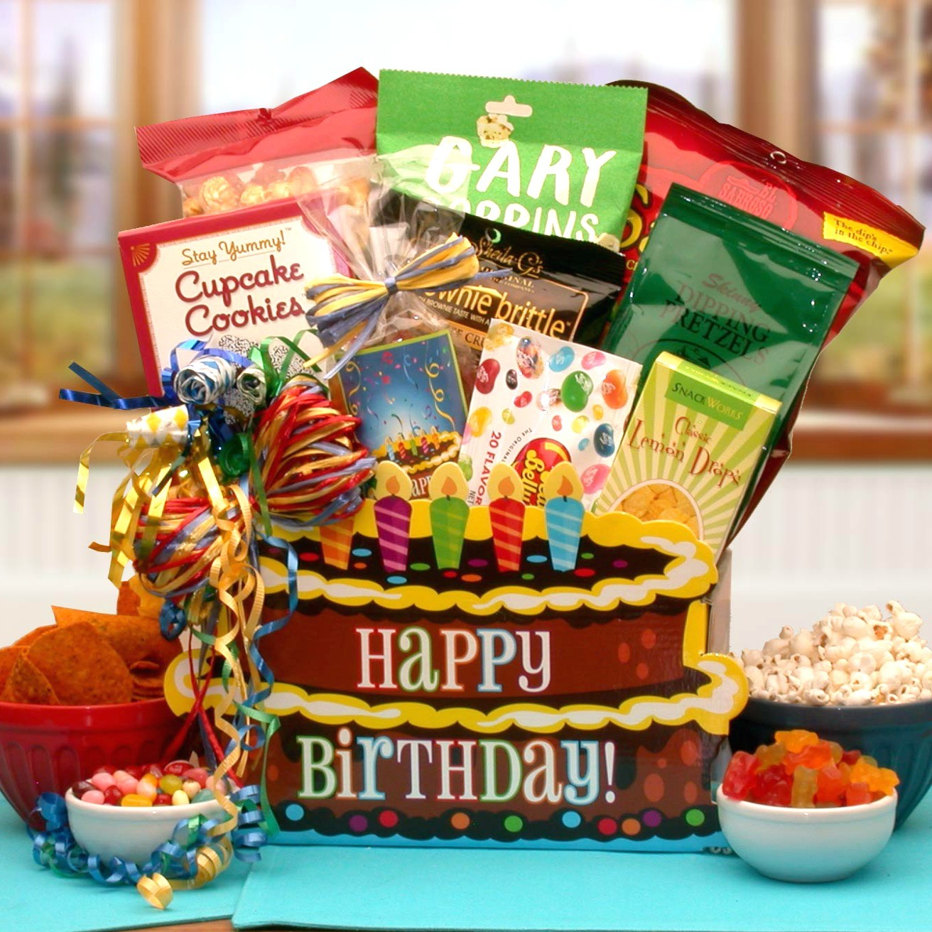 You take the cake happy birthday gift box birthday cake gift box loading zoom negle Image collections