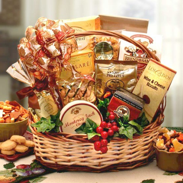 bountiful five gourmet gift basket