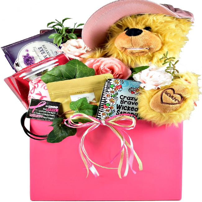 Breast Cancer Recovery Gift Basket