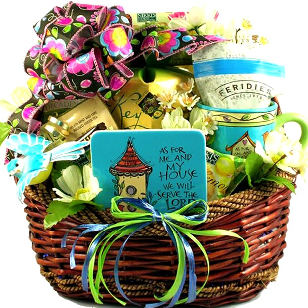 Christmas gift basket ideas pictures