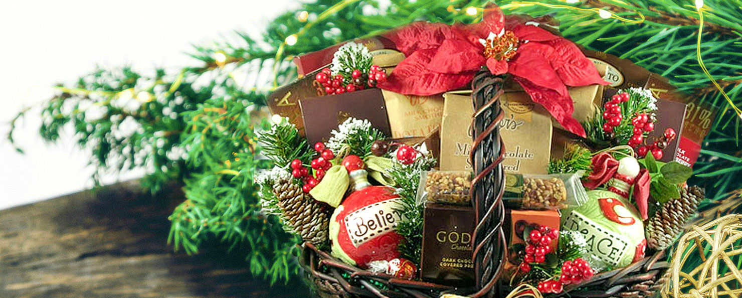 Christmas Baskets Delivered, Fast Holiday Gift Delivery