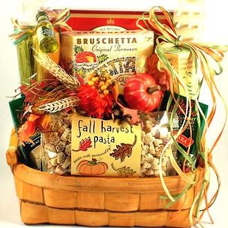 Italian Food Basket Of Warm Wishes