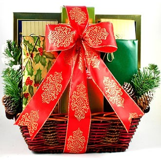 Christmas holiday gift basket delivery