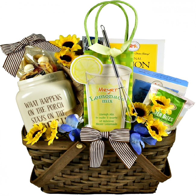 Mama S Front Porch Gift Basket For Mom