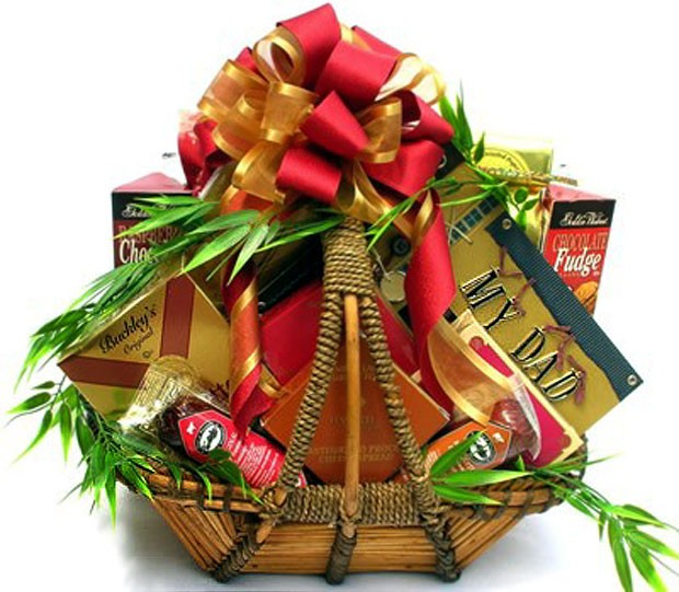 Gift Basket For Dad Worlds Greatest Father Loading Zoom