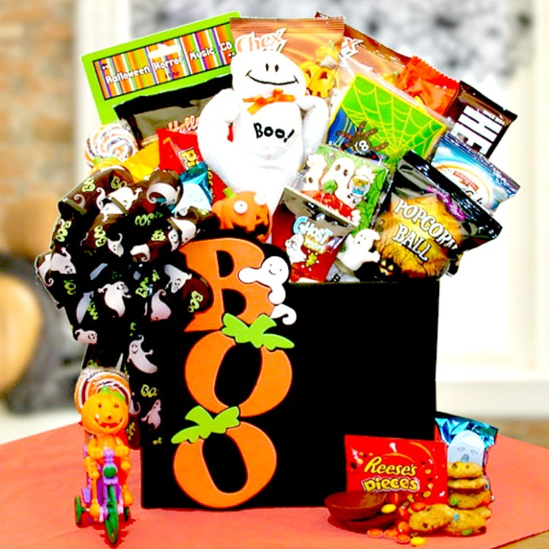 Terrifyingly delicious halloween boo gift box mr boo halloween gift box of candy loading zoom negle Gallery