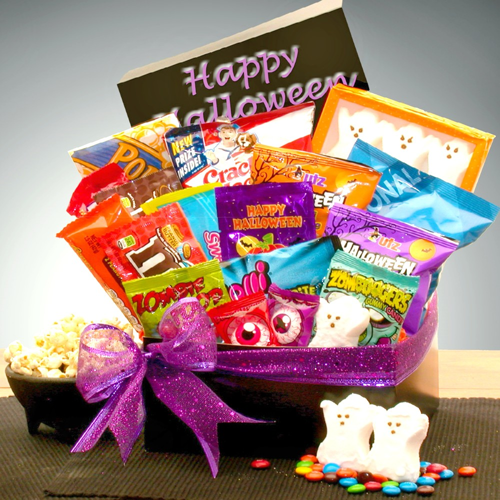 Trick or treat candy crush halloween care package halloween gift baskets candy crush loading zoom negle Gallery
