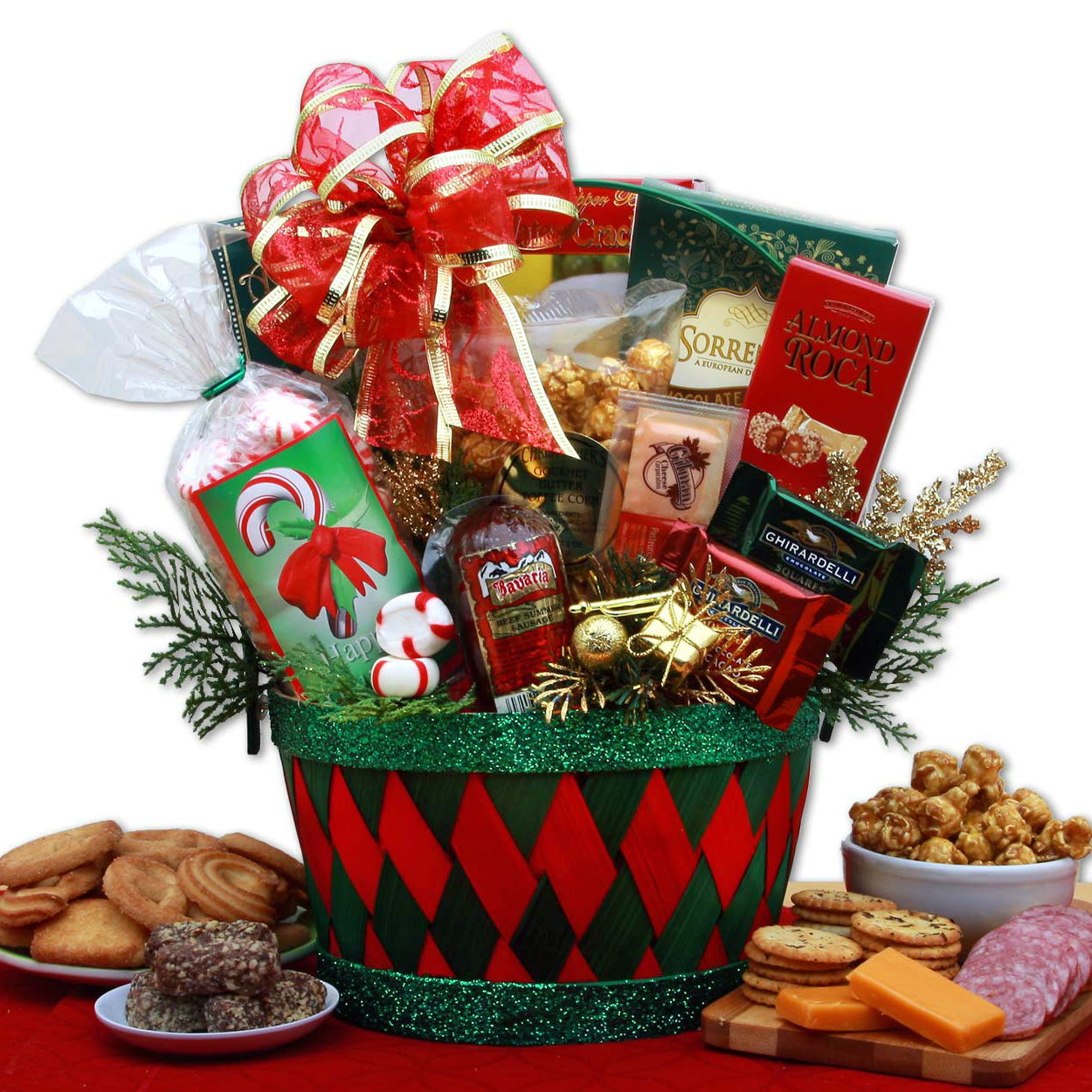 Gift Basket for Christmas, One Of A Kind Holiday Favorite