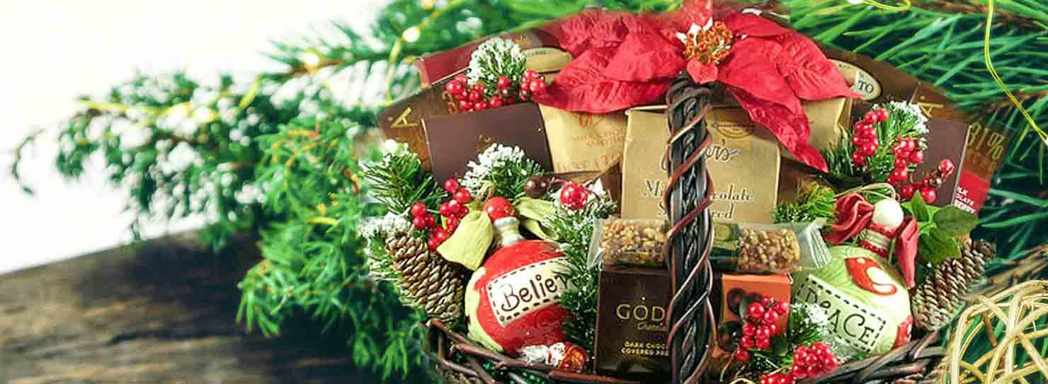 Holiday Gift Basket Sale