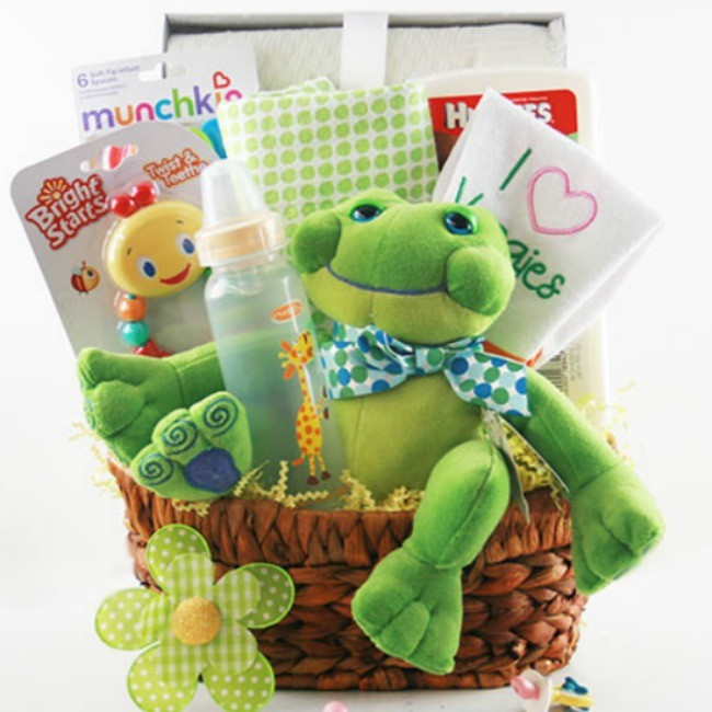 New mom gift baskets new mom gift basket ideas little munchkin baby basket negle Image collections