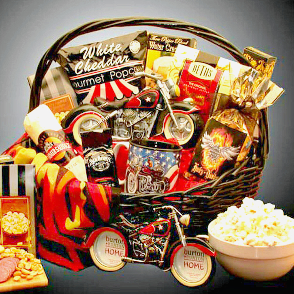 Motorcycle Enthusiasts, Bikers Gift Basket