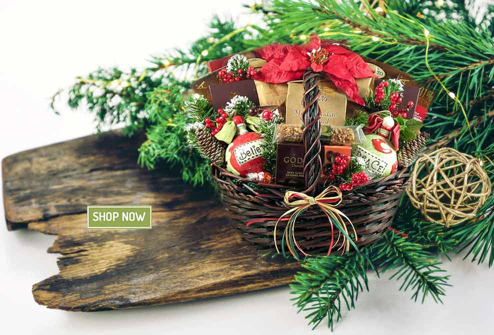 Shop Holiday Gift Baskets