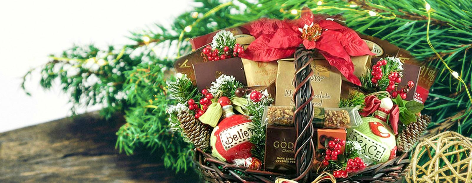 send holiday gift baskets