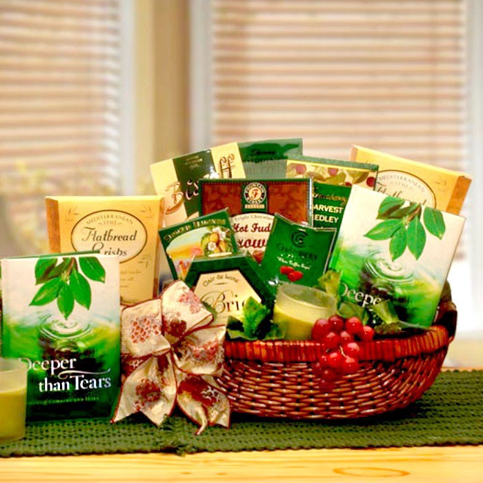 Gift Basket to Express Deepest Sympathy. Loading zoom