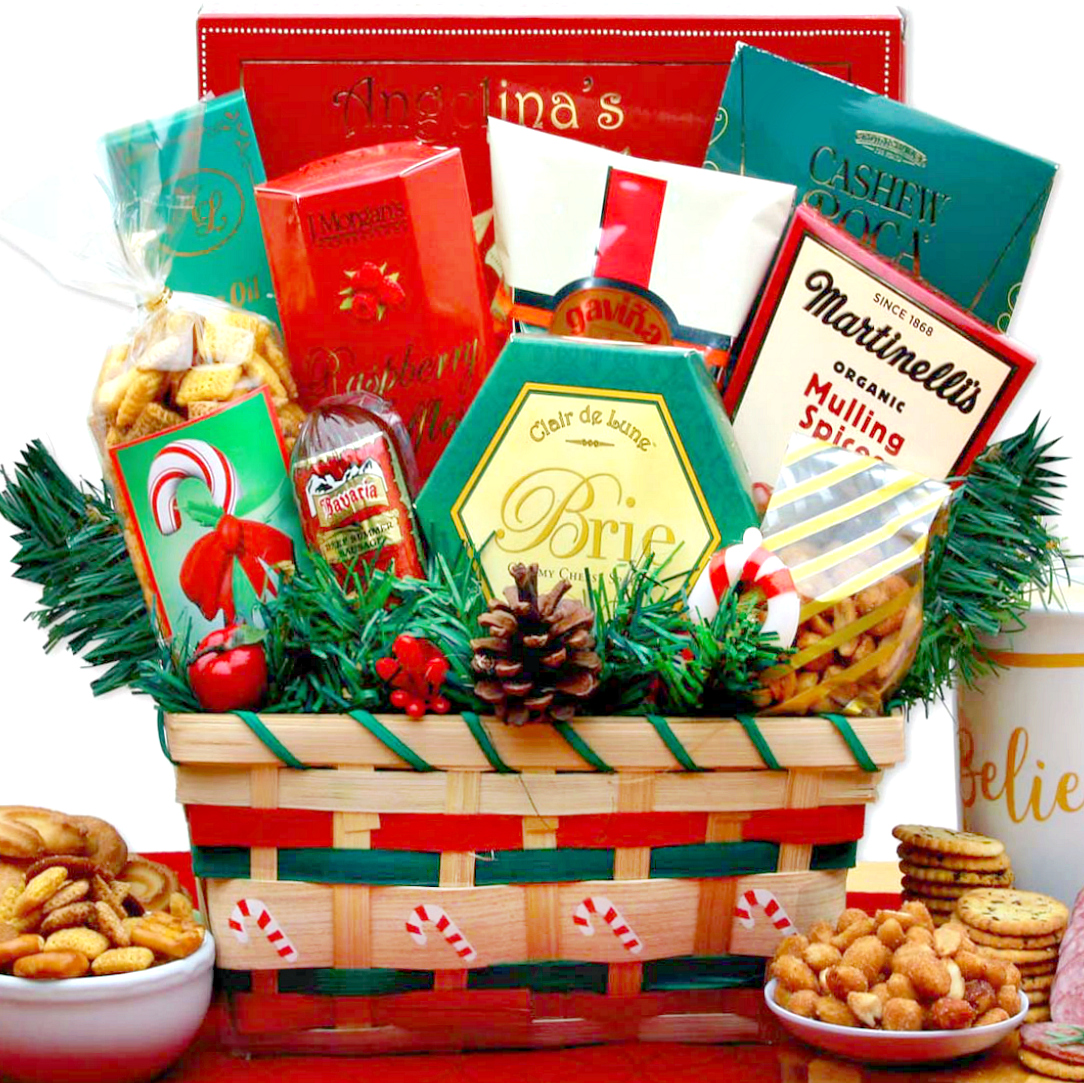 a taste of christmas gift basket loading zoom