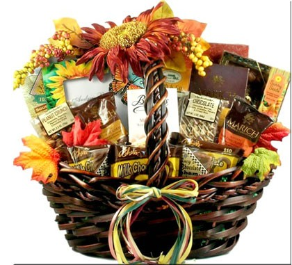 Thanksgiving Gift Basket, Fall Gourmet Food Gift