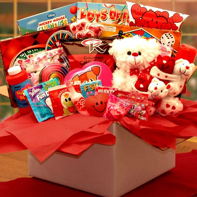 Kids Fun Valentine Care Package, Valentine's Day Surprise