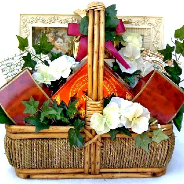 With Sincerest Sympathy Gift Basket. Loading zoom