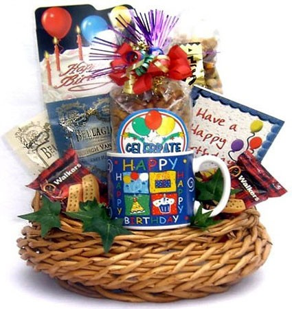 Birthday Bash Gift Basket