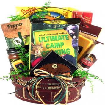 Happy Camper Gift Basket