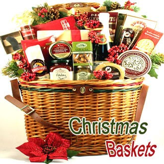 Christmas Holiday Gift Baskets