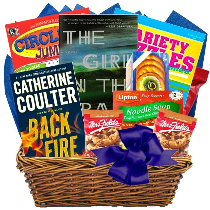 Deluxe Feel Better Basket With Book