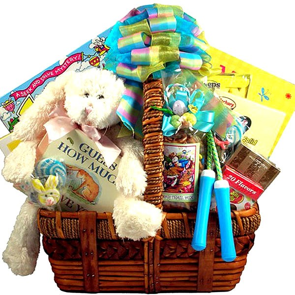 Family fun easter activity gift basket negle Images