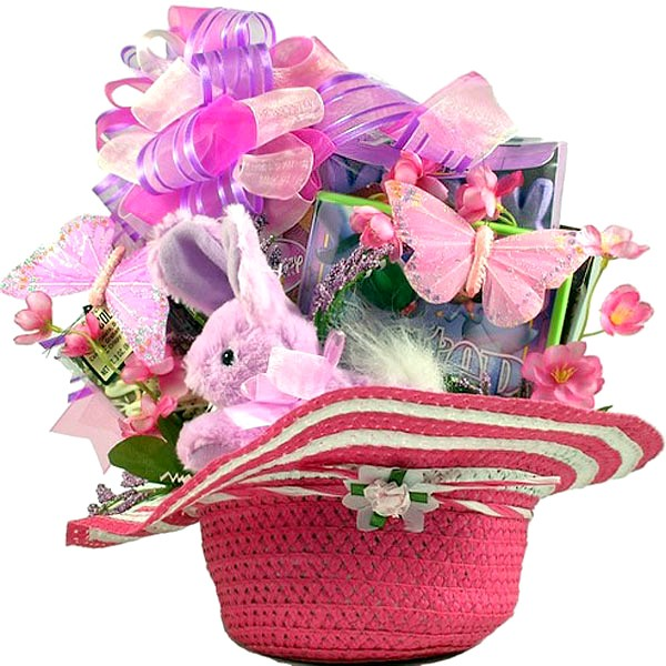 Little princess easter gift basket easter baskets for girls negle Choice Image