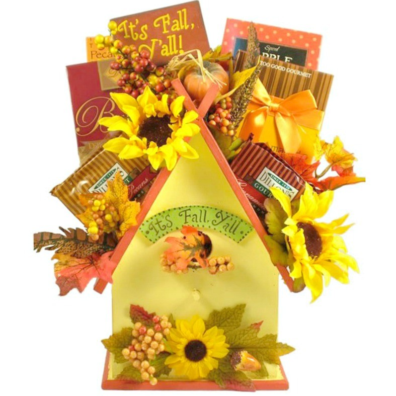 Fall Gift Basket Ideas, Thanksgiving Gift Baskets