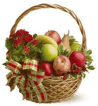 Holiday Fruit Baskets
