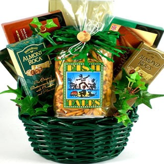 Fishing fanatic gift basket for fishermen for Fishing gift basket