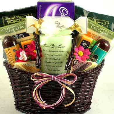 Gift Basket Ideas For Welcome Home Home Design Mannahatta Us