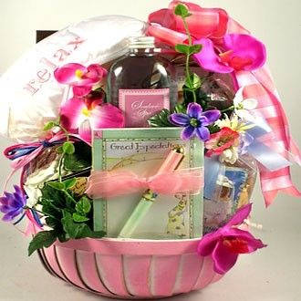 Great Expectations Gift Basket For Mom To Be