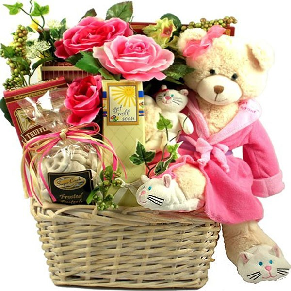 Recuperate Kate Get Well Gift Basket For Her