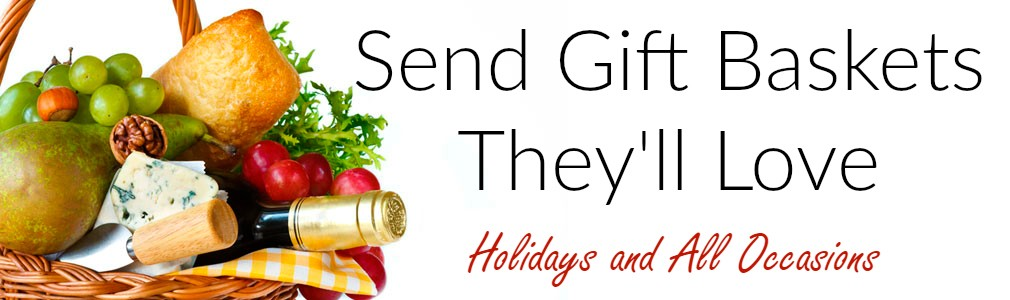send holiday gift baskets