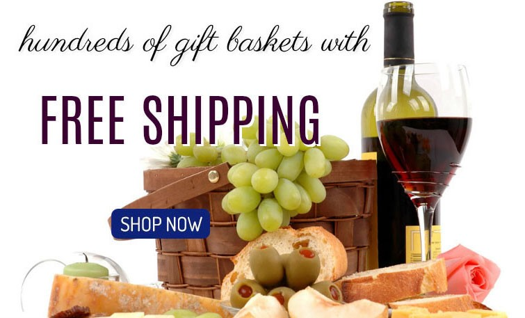 free shipping gift-baskets