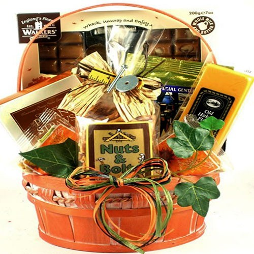 Handyman Snacks Gift Basket For Him