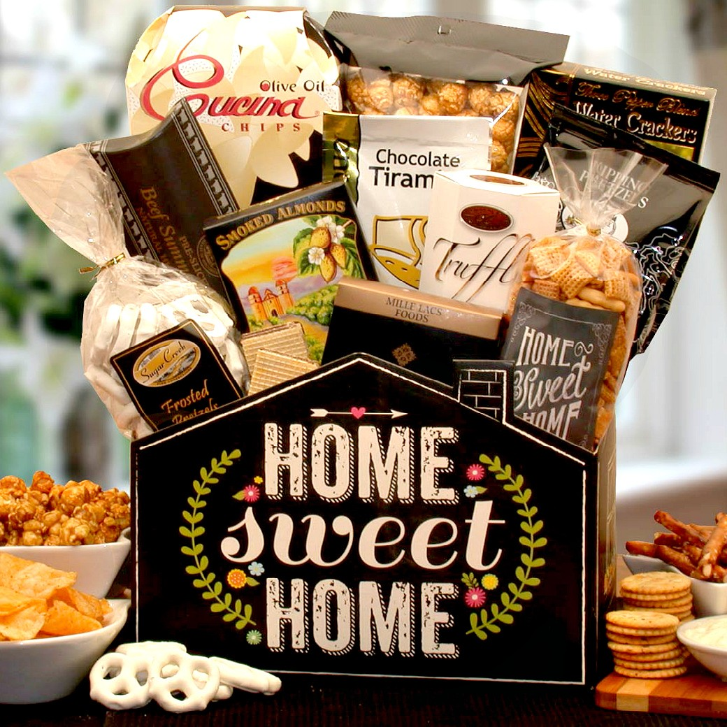 New Home Gifts Gift Baskets Gifts Com: No Place Like Home, Housewarming Gift Box