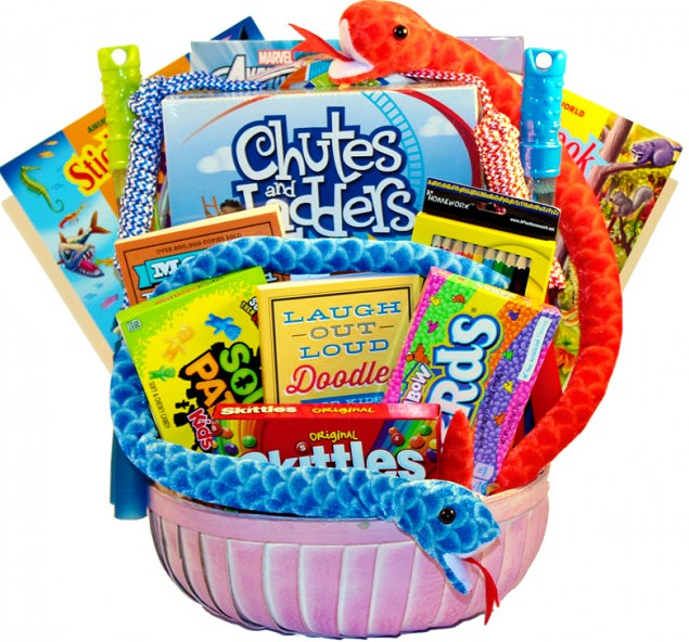 Gift Basket Fun Activities Loading Zoom