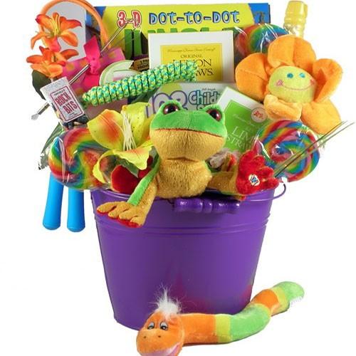 Gift baskets for kids room kid for Baskets for kids room