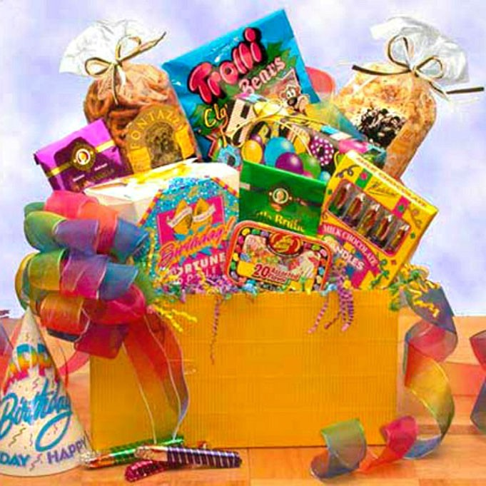 Birthday gift basket delivery ideas birthday gift baskets delivered surprise birthday gift box negle Images