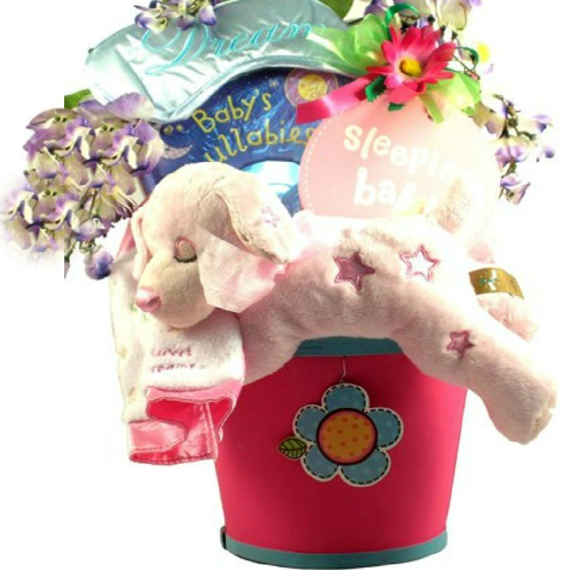Baby Gift Basket Same Day Delivery : Sweet dreams baby gift basket