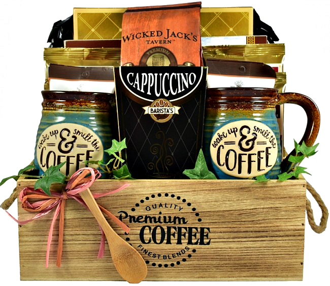 The Coffee House Gourmet Coffee Lovers Gift Crate